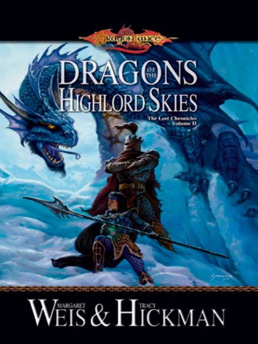 обложка книги Dragons of the Highlord Skies