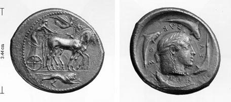 Изображение к книге История античной Сицилии и её монетное дело