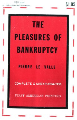 обложка книги The Pleasures of Bankruptcy