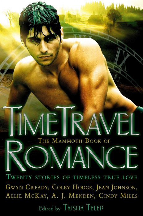 обложка книги The Mammoth Book of Time Travel Romance